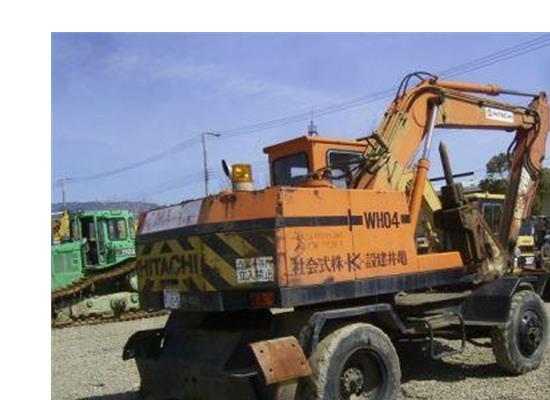 Hitachi Excavator(WH04)