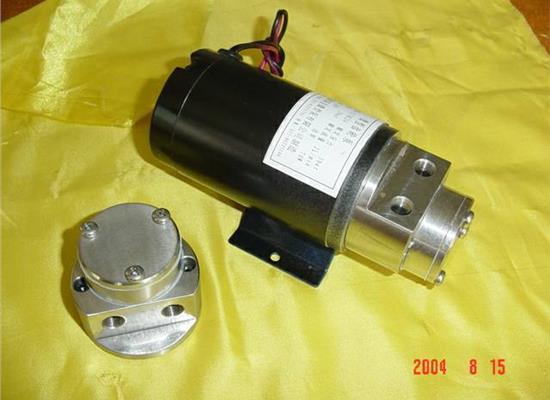 微型齿轮泵头(CBS1-12)