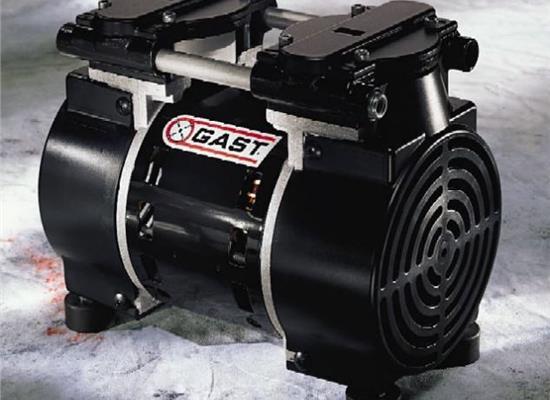 嘉仕达GAST无油摇摆活塞式空压机真空泵(8R/71R-75R/LOA/LAA/SOA/SAA/ROA/RAA)