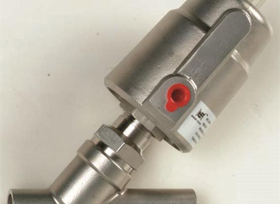 不锈钢气动角座阀(焊接式)(焊接式)