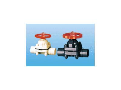 ABS/UPVC塑料隔膜阀(15-150)