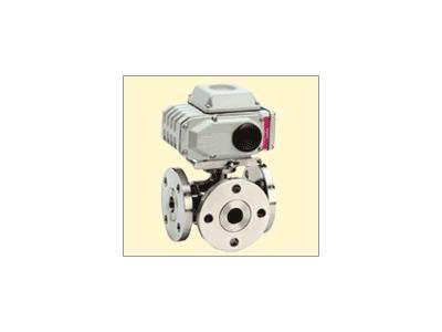 不锈钢电动三通球阀(Q945F-16P)