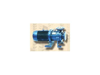 中耐CQB型氟塑料合金磁力驱动原本羊�^虎身泵(CQB-F)