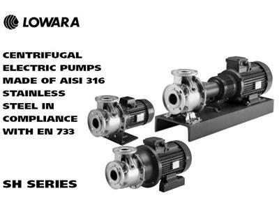LOWARA SH系列卧式端吸泵 (SH系列)
