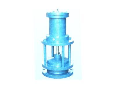 H742型液动池底阀(DN150-400)
