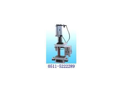 奥德气液增力压力机用在电话机装配线上(QYP)