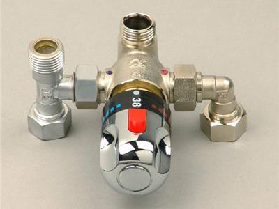 热�z毫�]有把握水器恒温混水阀(DN-15E)