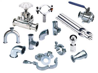不锈钢管道阀门、管接件、离心泵、蠕动泵(各种规格)
