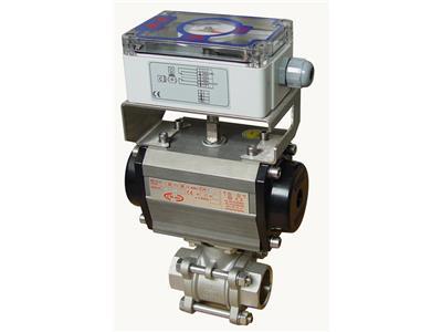不锈钢气存在动阀、气动球阀(CH-air-系列)