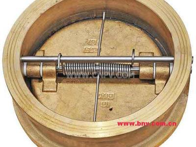 镍铝青铜黄铜紫铜白铜铅黄铜锡黄铜止回阀(H76T-150LB-  DN200)