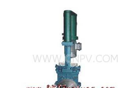 电液动刀形闸阀PZ273X-F型号(PZ273X-F)