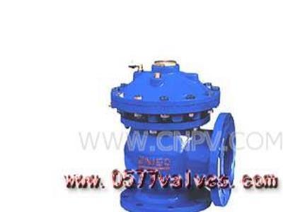 快开排泥阀-禹轩系列水力控制阀商(JM744X-JM644X)