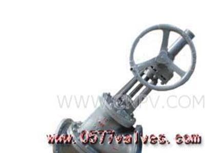 料浆阀-伞齿轮Y型料浆阀(Y型)