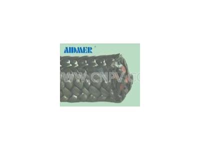 硅胶芯黑四氟盘根 进口芳纶盘根 石墨盘根(Aidmer76-024G)