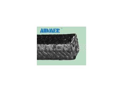 浸石墨碳纤维盘根  石墨盘根 白四氟盘根(Aidmer 76-025C)