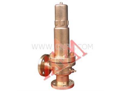 弹簧式铜安全阀(A41W-16T)(A41W-16T)