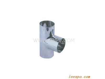 卫生级焊接等径三通(20-150mm)