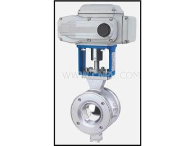 HV系列硬密封電動V型調節球閥(HV)