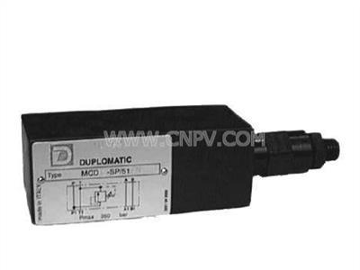 叠加式溢流阀,压力控制阀(MCD-MRQ-RQ4M-PRM7)
