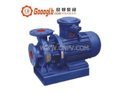 ISWB型卧式单级防爆管道增压泵(ISWB型)
