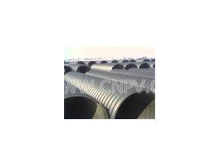 HDPE钢带增石头强螺旋波纹管(DN500----DN2200)