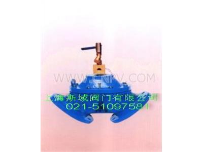 角式排泥阀(HB100S)