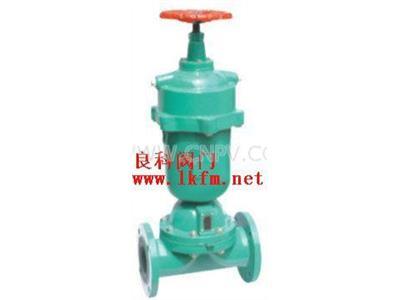 供应常闭式气动可是衬胶隔膜阀(G6B41J-10)