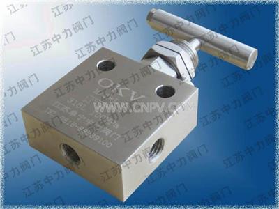 不锈钢针型阀 高压针型阀-江苏中力阀门(GY11H)