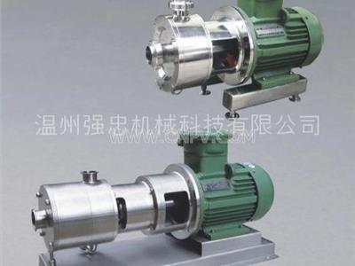 高剪切均质每一个阶位乳化泵(SRH)