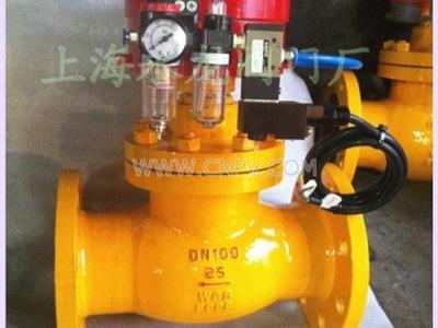 气动切断阀、气控切断阀(QDQ421Y-25C)