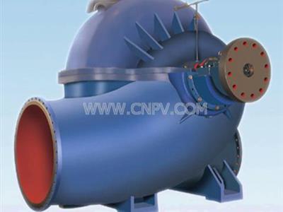 SAP中開式離心泵|單級雙吸離心泵(SAP型)