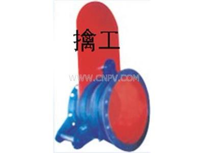F44X手動盲板閥、眼睛閥、翻板閥扇形閥(F44X-0.5(1.5、2.5))