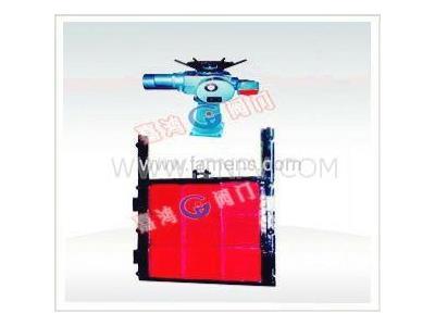 电动铸铁镶铜方闸门(ZMQY)