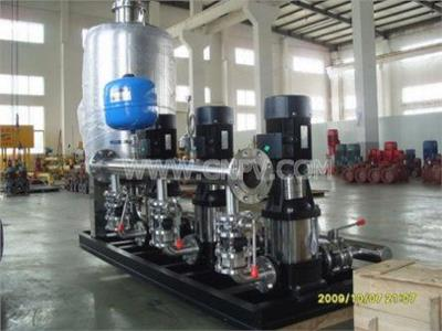无负压变频供水设备(SCG)