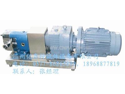 亿喜特ZB3A系列齿轮定速比型转子泵(ZB3A系列)