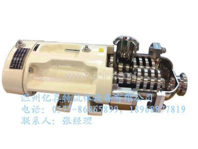 亿喜特SLGP系列卫生级双螺杆泵(SLGP系列)