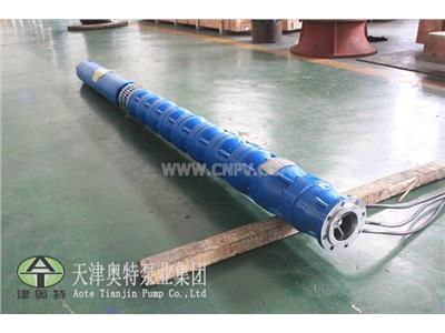 津奥特铸铁五百玄仙电动深井潜水泵(QJ)