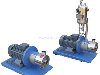 带保看著温套均质乳化泵,高剪切分散乳化泵(ECL3000系列管线式高就算��力再��剪切均质泵)