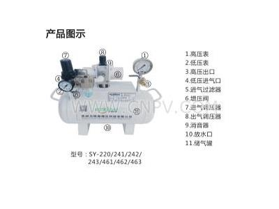 专业提供空气增压泵(SY-220)