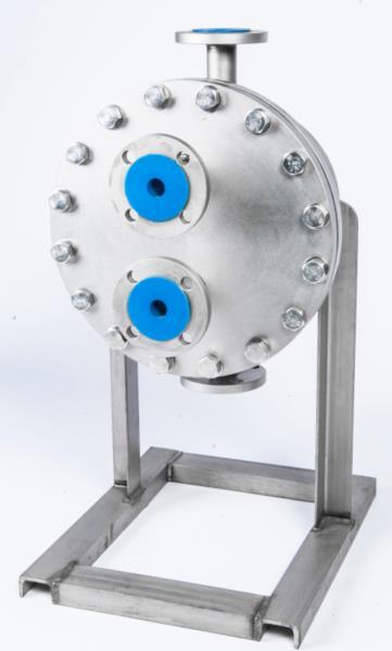 青岛瑞普特直供新型板壳式换热器激光焊接