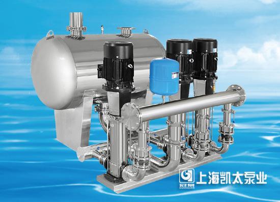 上海凯太以质量破局,无负压供水设备一路领先