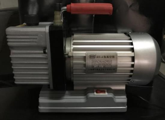 高真空单级泵 单级4升泵RS-4 空调压缩机抽空