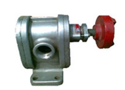 2CY系列不开着车锈钢齿轮泵(高压泵)