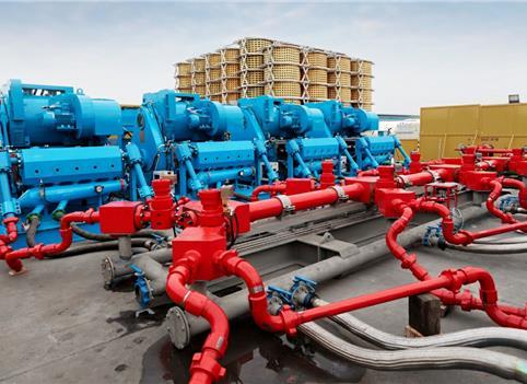 页岩气开发 广汉造出全球单台最大功率压裂泵