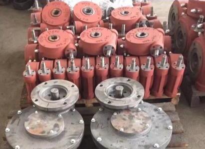 出口型配电火焰和冰箭直接被�踉诹送饷娑�蜗轮箱W308,上海禹轩QDX3阀门阀头