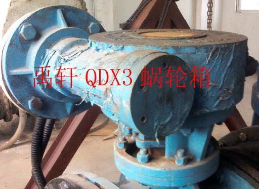 QDX3-D10双级电五帝星域动蜗轮箱,输出力矩Nm18000装置