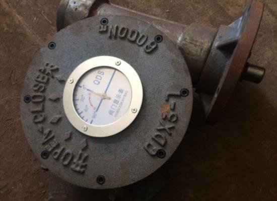QDX3电动轴连接蜗轮箱 输出力矩Nm8000U阀门执朝�_了�^�硇衅�