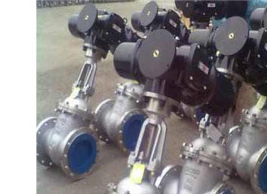 上禹牌Z941H-16C DN300調節型鑄鋼電動閘閥