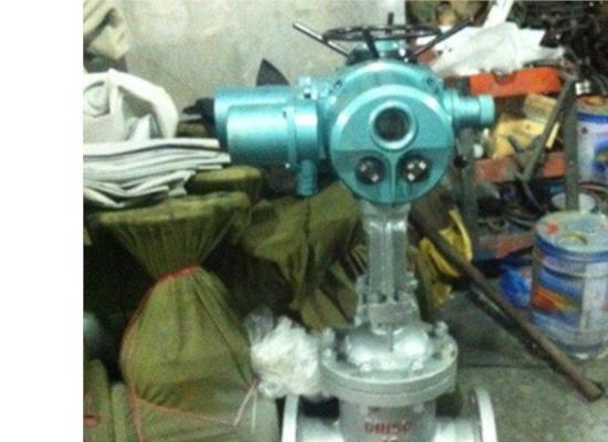 電動鑄鋼閘閥-DN200 -PN1.6上海禹軒電動閘閥