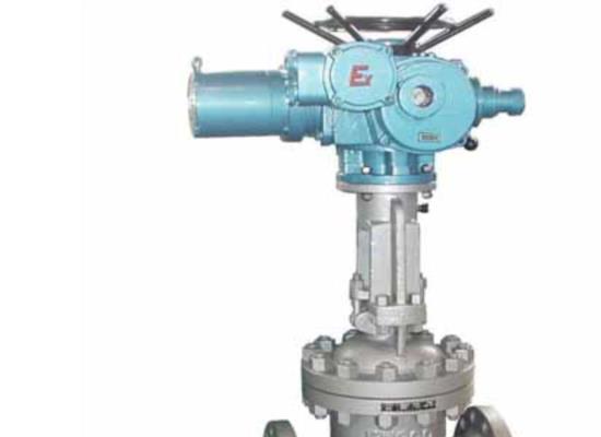 上海禹軒Z941H-16C-150防爆電動閘閥結構與特點